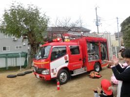 小松朝日保育所合同消防訓練